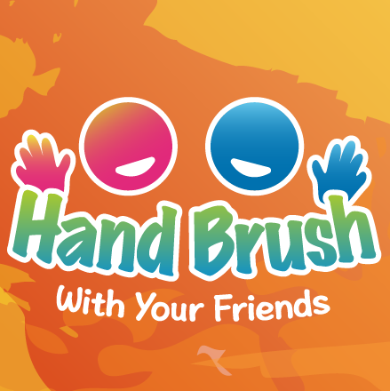 """Hand Brush """"with your friend"""""""